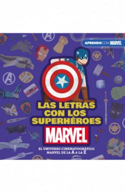 Las letras con los superhéroes Marvel (Aprendo con Marvel)