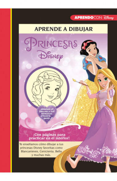 Aprende a dibujar a las Princesas...
