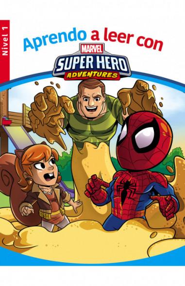 Aprendo a leer con los superhéroes...