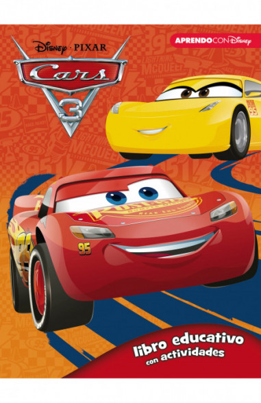 Cars 3 (Libro educativo Disney con...