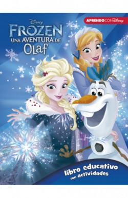 Frozen: una aventura de Olaf (Libro educativo Disney con actividades)