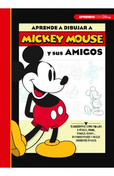 Aprende a dibujar a Mickey Mouse y...