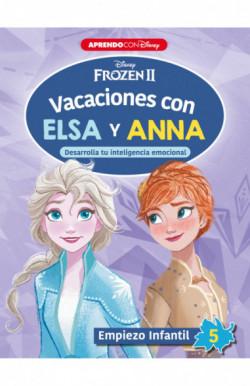 Vacaciones con Elsa y Anna....