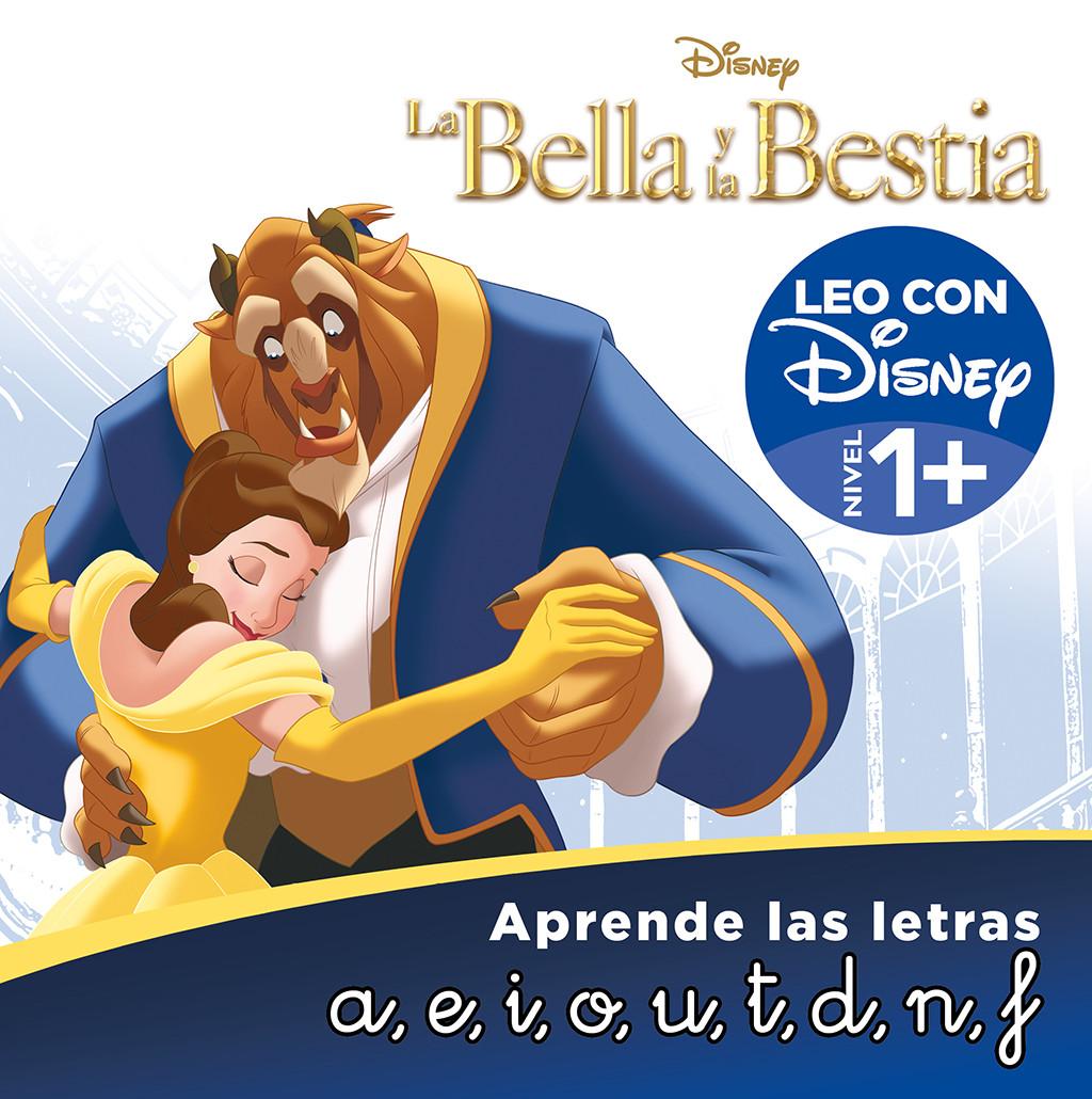 La Bella y la Bestia. Aprende las letras (Leo con Disney - Nivel 1+)