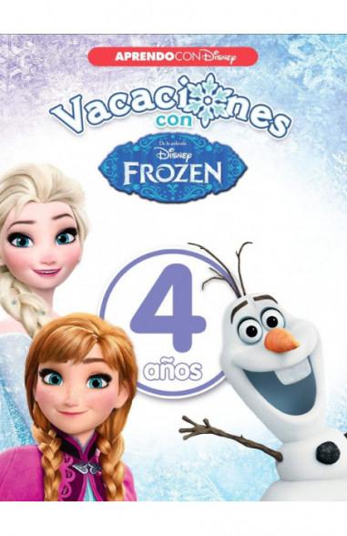 Vacaciones con Frozen. 4 años...
