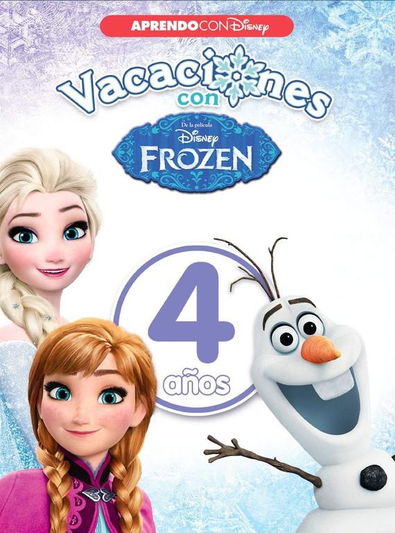 Vacaciones con Frozen. 4 años (Aprendo con Disney)