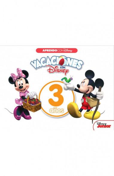 Vacaciones con Disney. 3 años...