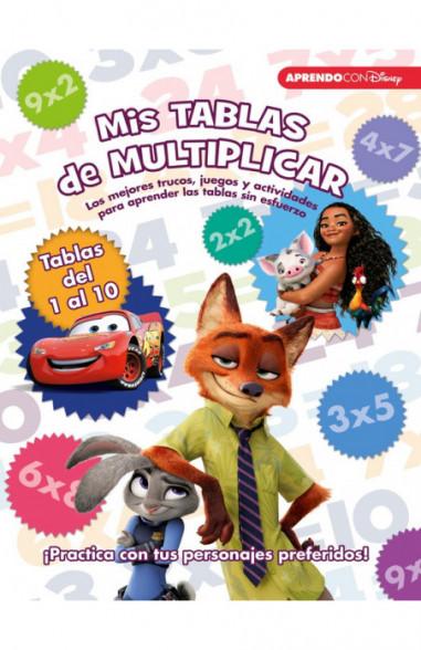 Mis tablas de multiplicar (Libro...