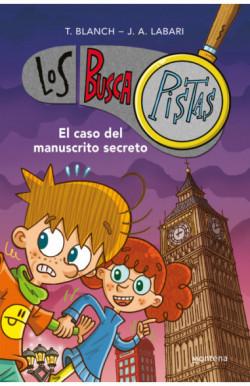 El caso del manuscrito secreto (Serie Los BuscaPistas)