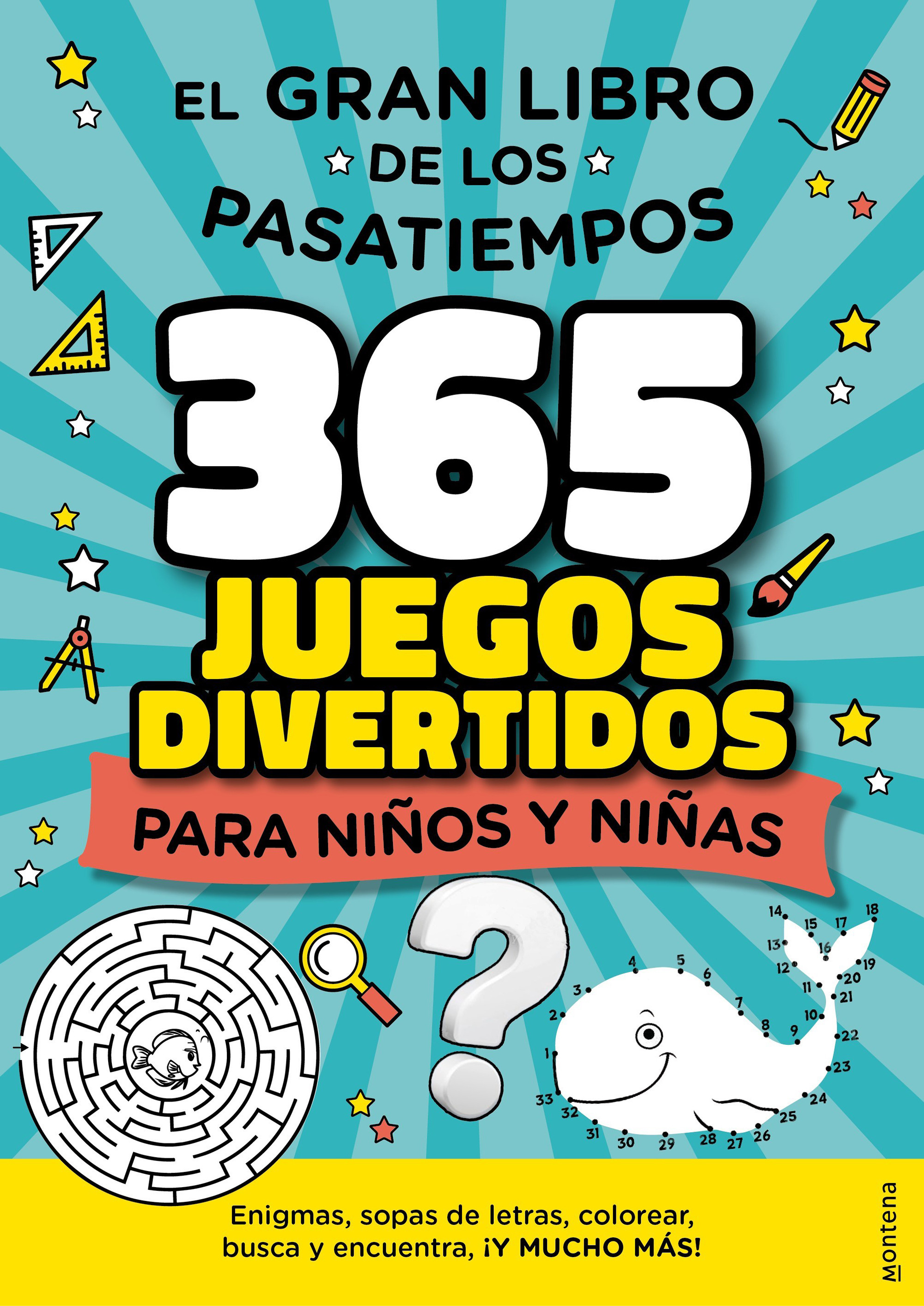 365 Juegos divertidos para Niños y Niñas