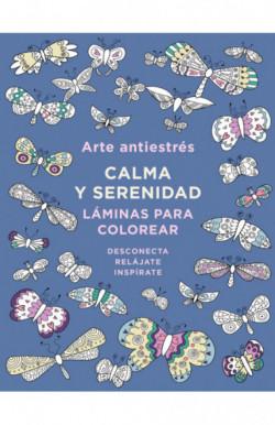 Arte antiestrés: Calma y serenidad. Láminas para colorear