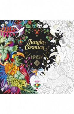 Jungla Cósmica (Libro de colorear para adultos)