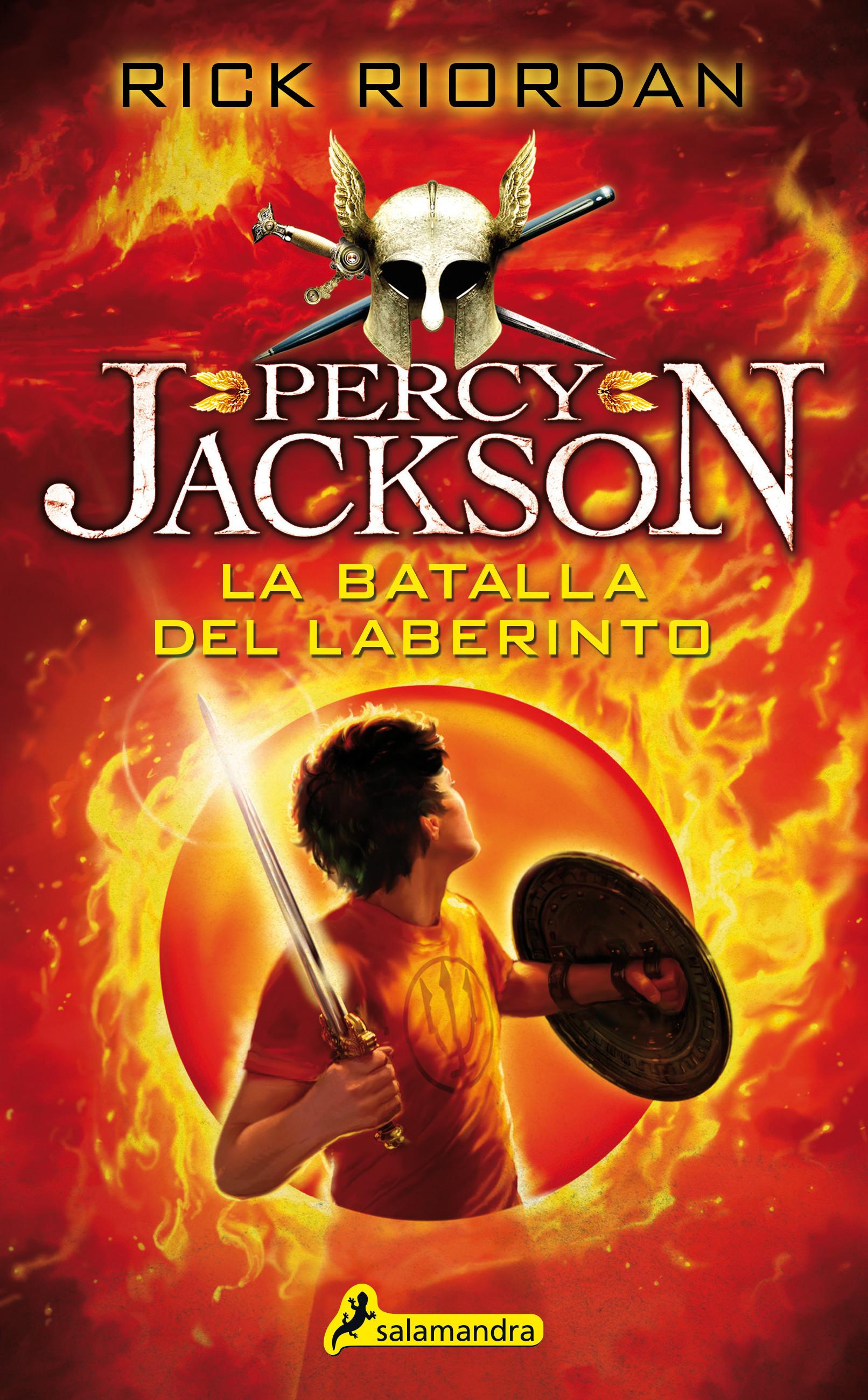 La batalla del laberinto (Percy Jackson y los dioses del Olimpo 4)