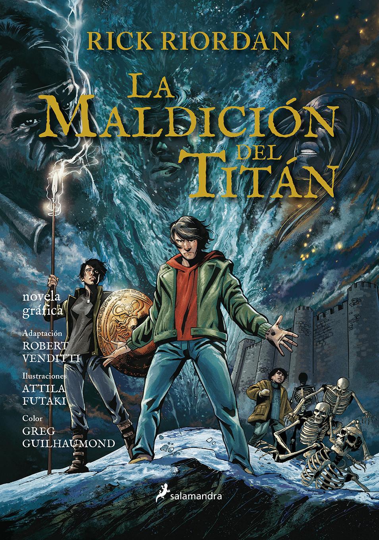 La maldición del Titán (Percy Jackson y los dioses del Olimpo novela gráfica 3)