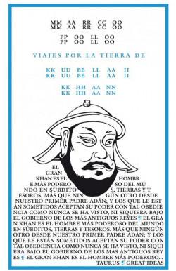 Viajes por la tierra de Kublai Khan (Serie Great Ideas 4)