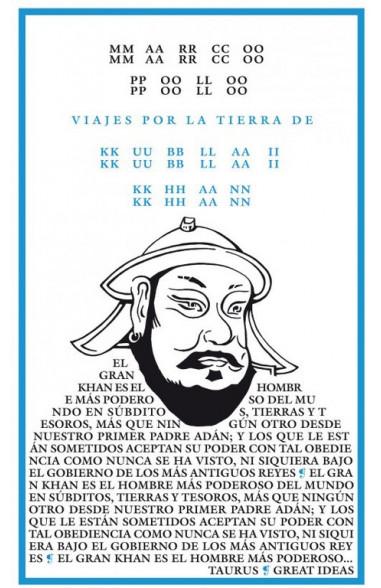 Viajes por la tierra de Kublai Khan...
