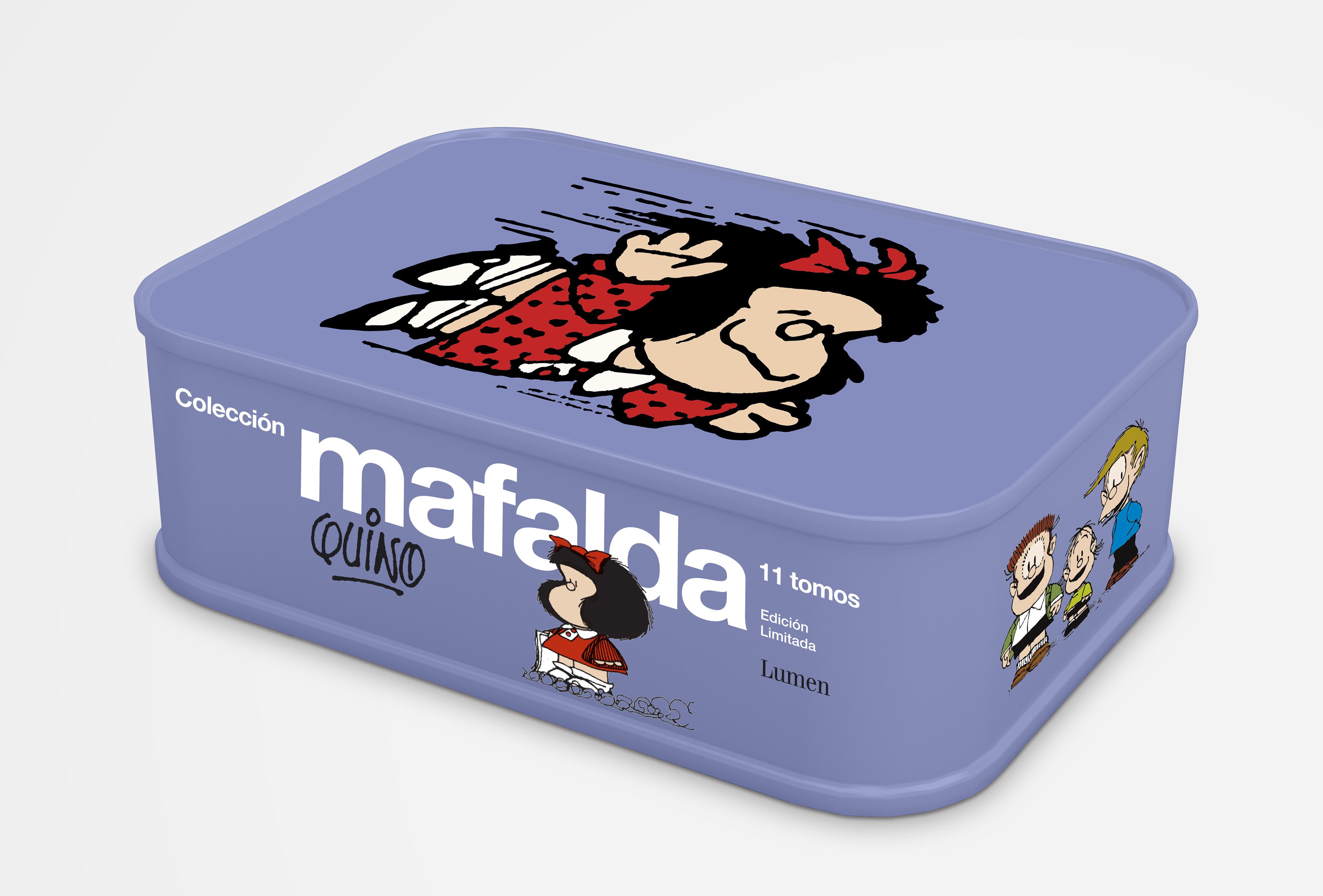 Colección Mafalda: 11 tomos en una lata (edición limitada)
