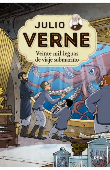 Julio Verne 4. Veinte mil leguas de...