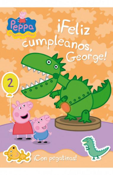 ¡Feliz cumpleaños George! (Peppa Pig....