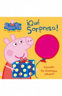 ¡Qué sorpresa! (Peppa Pig. Libro regalo)
