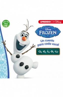 Frozen. Un cuento para cada vocal: a, e, i, o, u (Leo con Disney - Nivel 1)