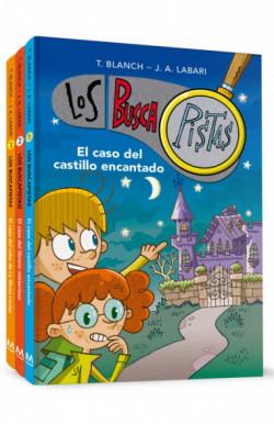 Pack Los BuscaPistas: El caso del castillo encantado|El caso del librero misterioso|El caso del robo de la Mona Louisa (
