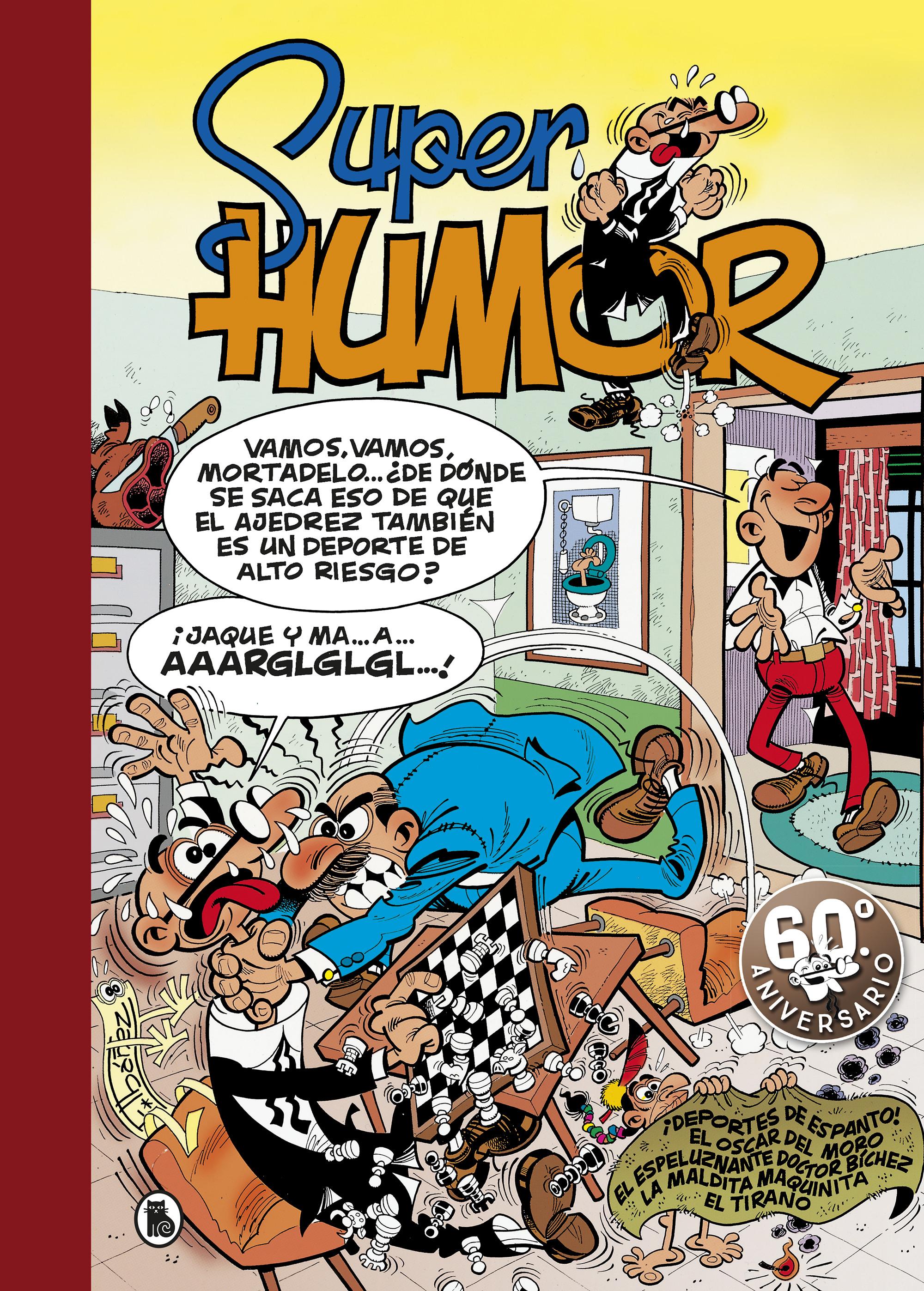¡Deportes de espanto! | El Óscar del Moro | El espeluznante Doctor Bíchez | La maldita maquinita | El Tirano (Súper Humo