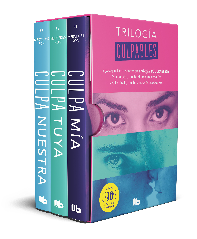 Trilogía Culpables (estuche con: Culpa mía | Culpa tuya | Culpa nuestra)