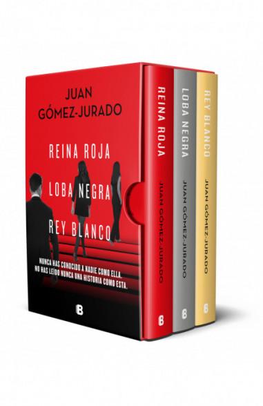 Trilogía Reina Roja (edición pack con: Reina Roja | Loba Negra | Rey Blanco)