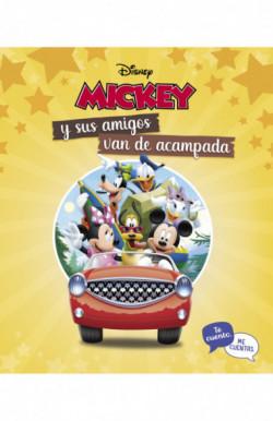Mickey y sus amigos van de acampada. Te cuento, me cuentas (Te cuento, me cuentas una historia Disney)