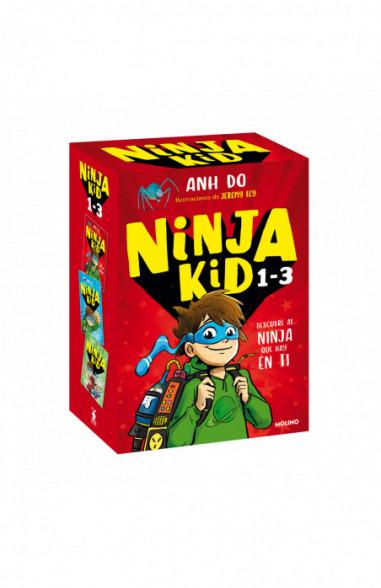 Estuche Ninja Kid 1, 2 y 3 (De...