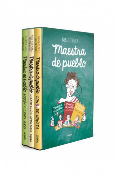 Maestra de pueblo (pack con: Con L de novata | Estado civil: opositora | Borrón y cuenta nueva)