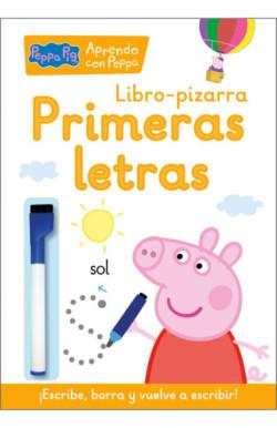 Primeras letras (Libro-pizarra) (Peppa Pig. Cuaderno de actividades)
