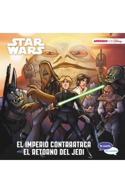 Star Wars. El imperio contraataca | El retorno del Jedi (Te cuento, me cuentas una historia Disney)