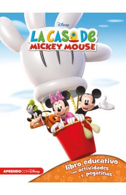 La casa de Mickey Mouse 1 (Libro educativo Disney con actividades y pegatinas)
