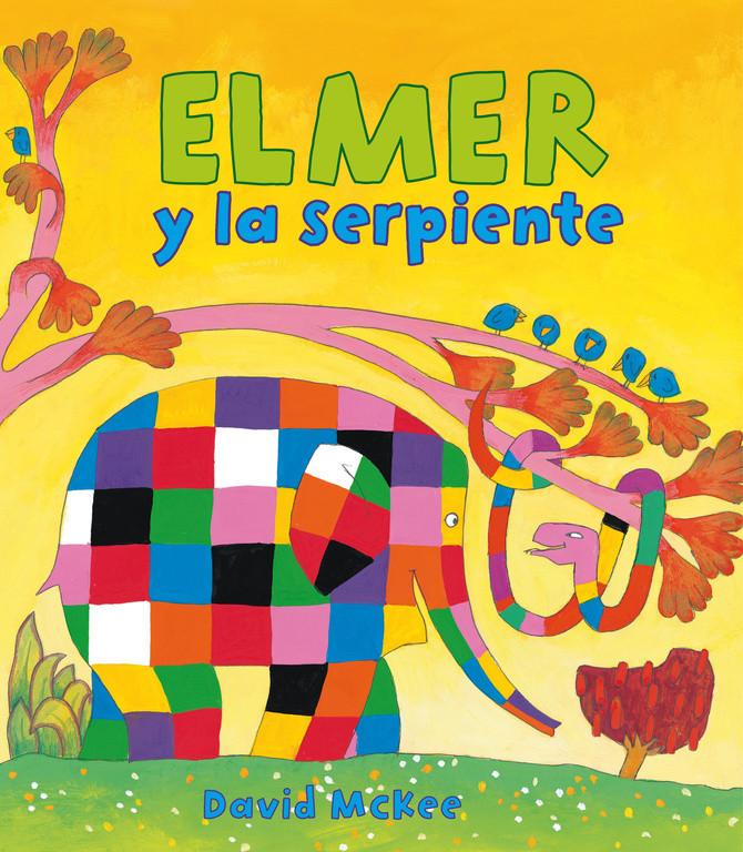 Elmer y la serpiente (Elmer. Álbum ilustrado)