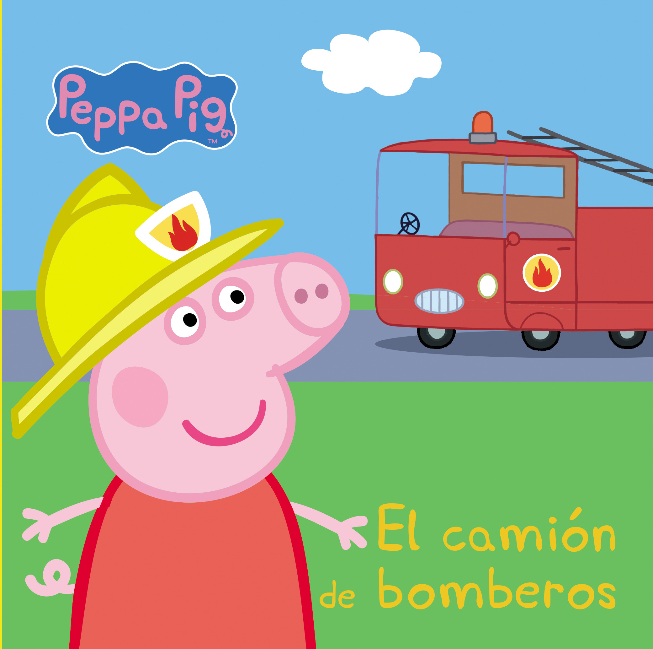 El camión de bomberos (Peppa Pig. Pequeñas manitas)