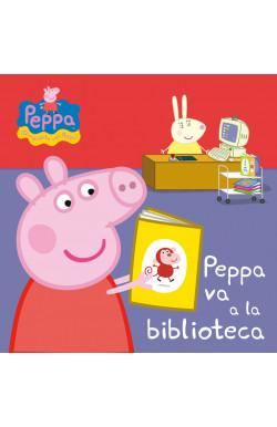 Peppa va a la biblioteca (Peppa Pig. Pequeñas manitas)