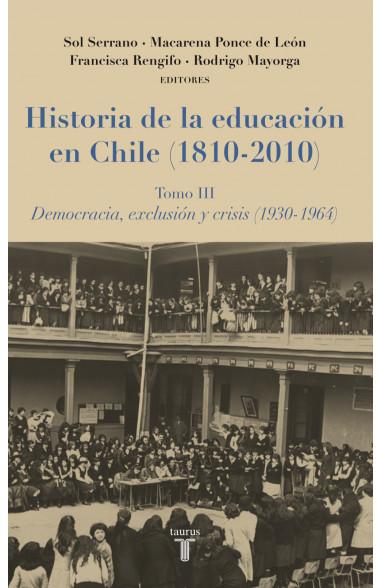 Historia de la educación en Chile...