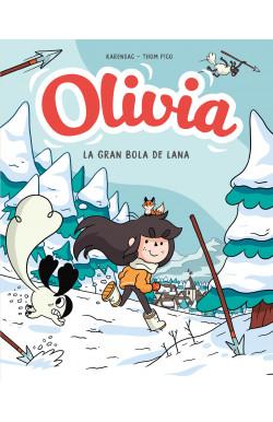 Y la gran bola de lana (Olivia 3)