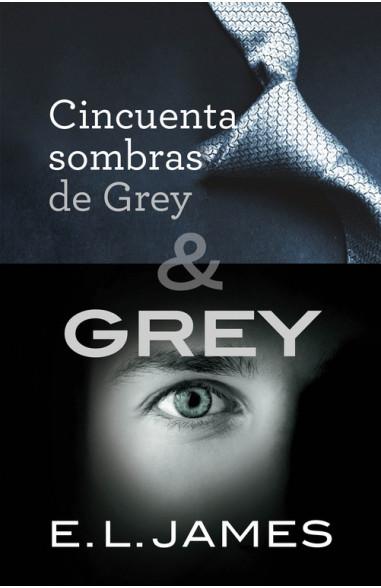 Pack Cincuenta sombras de Grey & Grey