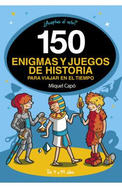 150 enigmas y juegos de historia