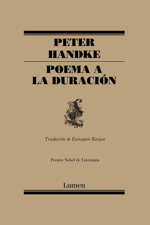 Poema a la duración