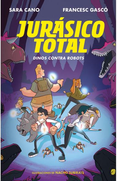 Dinos contra robots (Serie Jurásico...