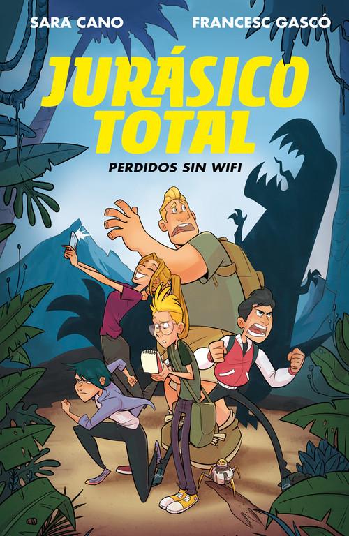 Perdidos sin wifi (Serie Jurásico Total 1)