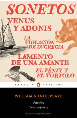 Poesías (Obra completa Shakespeare 5)
