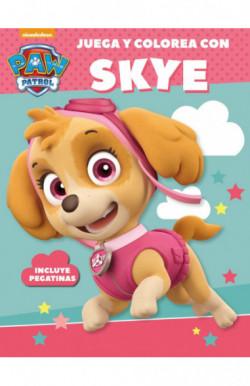 Juega y colorea con Skye (Paw Patrol | Patrulla Canina. Actividades)