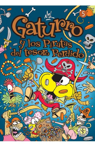 Gaturro 5. Gaturro y los piratas del...