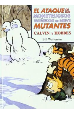 El ataque de los monstruosos muñecos de nieve mutantes (Súper Calvin y Hobbes 8)