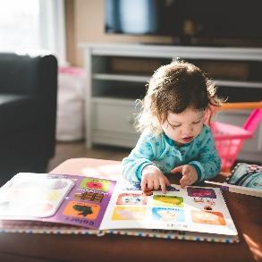 Libros para bebés con páginas de cartón